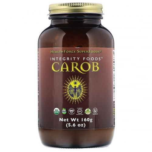HealthForce Superfoods, Integrity Foods, рожковое дерево, 160г
