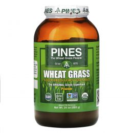 Pines International, Pines, ростки пшеницы, порошок, 24 унции (680 г)