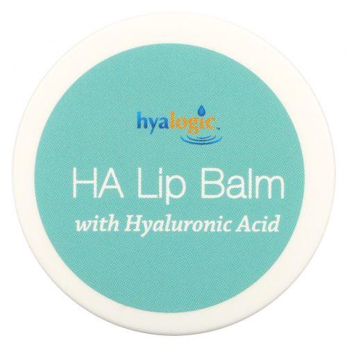 Hyalogic LLC, Episilk, бальзам для губ HA Lip Balm с гиалуроновой кислотой, 14 г (0,5 жидких унций)