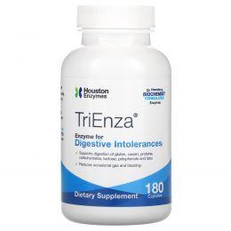 Houston Enzymes, TriEnza с DPP IV Activity, 180 капсул