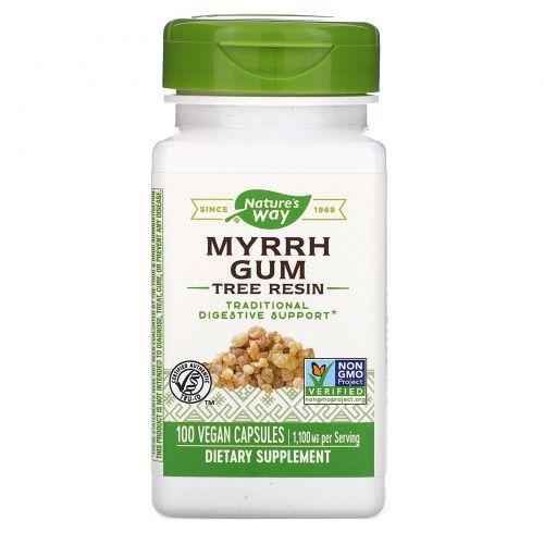 Nature's Way, Мирровая смола, 550 мг, 100 капсул