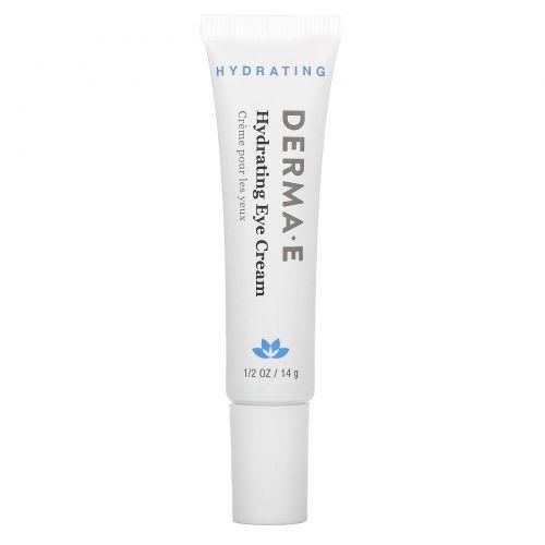 Derma E, Увлажняющий крем для глаз с гиалуроновой кислотой и пикногенолом, 14г