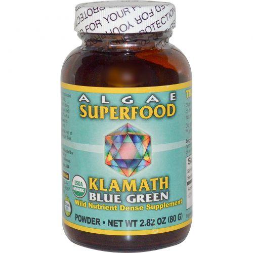 Klamath, Сила органических сине-зеленых водорослей из озера Кламат, 80 г