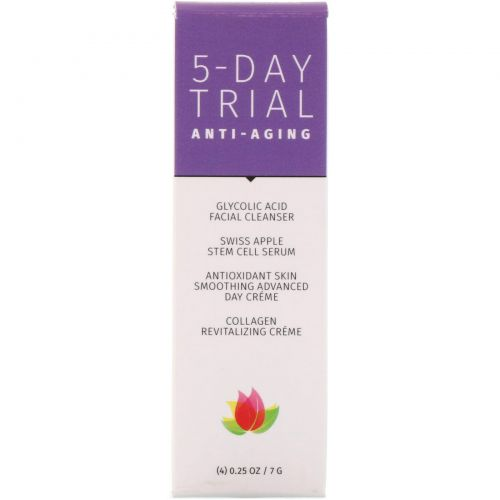 Reviva Labs, 5-Day Trial Kit, Anti-Aging, 4 Piece Kit, 0.25 oz (7 g) Each