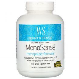 Natural Factors, WomenSense, MenoSense, формула для приема в период менопаузы, 180 растительных капсул