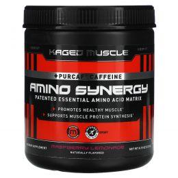 Kaged Muscle, Amino Synergy, Raspberry Lemonade, 6.88 oz (195 g)