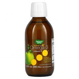 Ascenta, NutraSea + D, Омега-3 + Витамин D, Яблочный вкус, 6.8 жидких унций (200 мл)