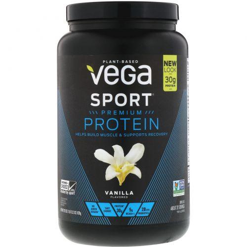 Vega, Performance Protein, Vanilla Flavor, 29.2 oz (828 g)