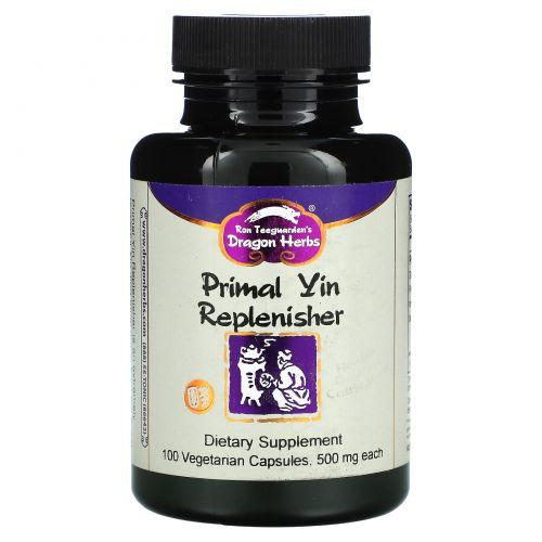 Dragon Herbs, Главный регенератор энергии инь, 500 мг, 100 капсул