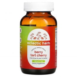 Eclectic Institute, Berry Tart Cherry, цельнопищевой порошок из вишни, 5,1 унций (144 г)