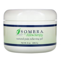 Sombra Professional Therapy, Warm Therapy, натуральный обезболивающий гель, 8 унции (227,2 г)