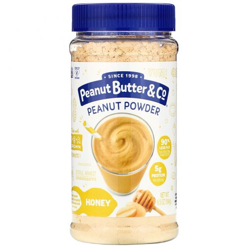 Peanut Butter & Co., Mighty Nut, порошковое арахисовое масло, мёд, 6,5 унц. (184 г)