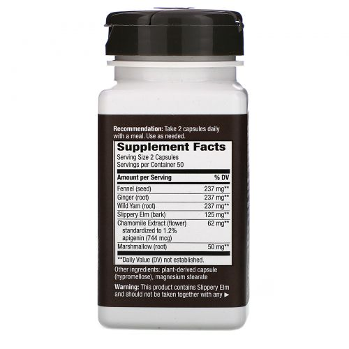 Nature's Way, Gastritix, с экстрактом ромашки, 474 мг, 100 капсул