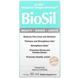 BioSil by Natural Factors, ch-OSA, Advanced Collagen Generator, 1 ж. унц. (30 мл)