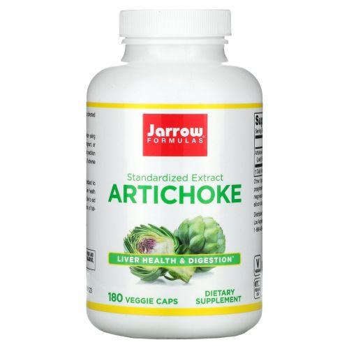 Jarrow Formulas, Артишок 500, 500 мг, 180 капсул
