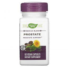 Nature's Way, Средство для предстательной железы Prostate, с экстрактом пальмы сереноа, 327 мг, 60 капсул