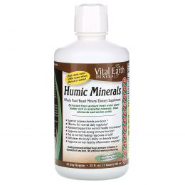 Vital Earth Minerals, Гуминовые минералы, 32 жидкихунции (946мл)
