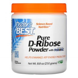 Doctor's Best, Порошок Best D-Ribose Powder, 250 г (8,8 унции)