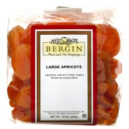Bergin Fruit and Nut Company, Турецкие большие абрикосы, 16 унций