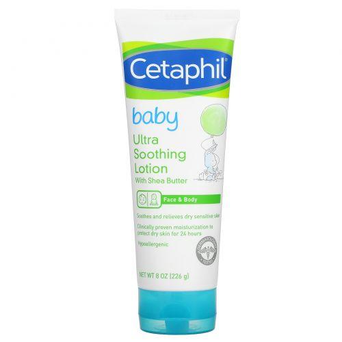 Cetaphil, Baby, смягчающий лосьон с маслом ши, 8 унций (226 г)