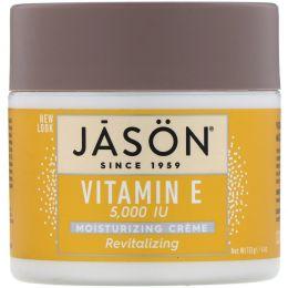 Jason Natural, Обновляющий витамин E, 5,000 IU, 113 г