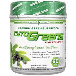 NovaForme, CytoGreens, Acai Berry Green Tea Flavor, 18.9 oz (535 g)