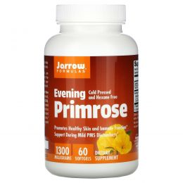 Jarrow Formulas, Вечерняя примула 1300, 1300 мг, 60 мягких капсул
