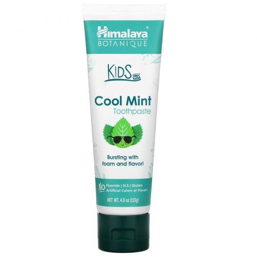 Himalaya, Botanique, Kids Toothpaste, Cool Mint, 4.0 oz (113 ml)