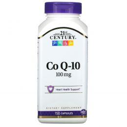 21st Century, Коэнзим Q10, 100 мг, 150 капсул