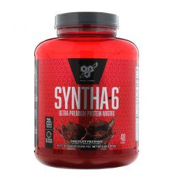 BSN, SYNTHA-6, питьевая смесь из белкового порошка, шоколадный молочный коктейль, 5 фунтов (2,27 кг)
