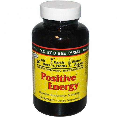 Y.S. Eco Bee Farms, Позитивная энергия, 75 капсул