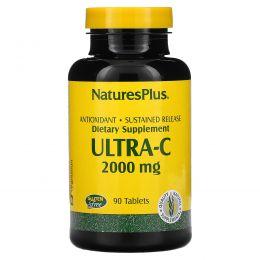 Nature's Plus, Ультра-C, 2000 мг, 90 таблеток