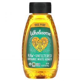 Wholesome Sweeteners, Inc., Organic, Raw Unfiltered White Honey, 16 oz (454 g)