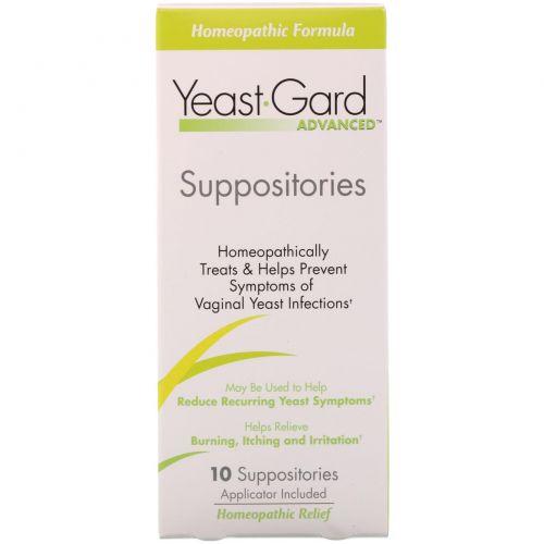 Women, Lake Consumer Products, Yeast Gard Advanced, 10 вагинальных суппозиториев