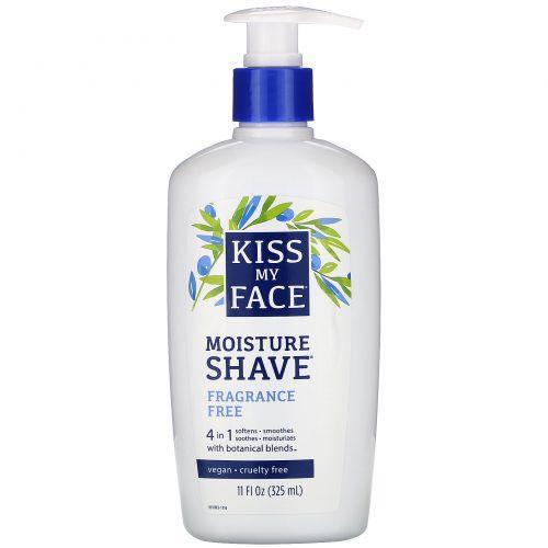 Kiss My Face, увлажняющее средство для бритья 4в1, без отдушки, 325мл (11жидк.унций)