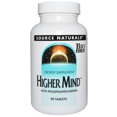 Source Naturals, Higher Mind, 90 таблеток