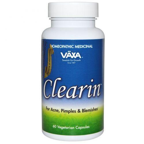 Vaxa International, Clearin, 60 растительных капсул