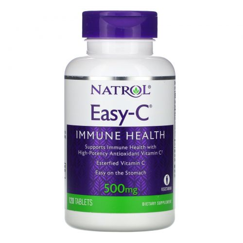 Natrol, Easy-C, 500 mg, 120 Tablets