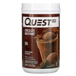 Quest Nutrition, Protein Powder, Chocolate Milkshake, 1.6 lb (726 g)