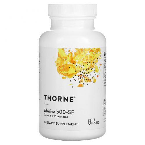 Thorne Research, Meriva 500-SF, 120 капсул растительного происхождения