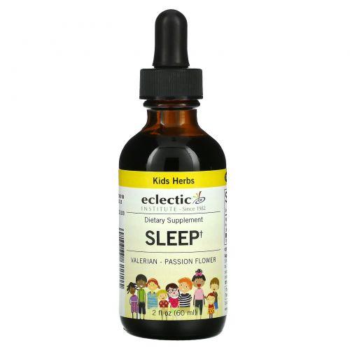 Eclectic Institute, Kids Herbs, Sleep,  2 fl oz (60 ml)