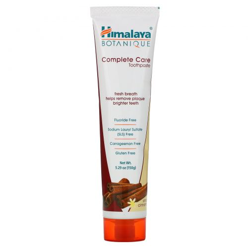 Himalaya Herbal Healthcare, Зубная паста для полного ухода за зубами, Simply Cinnamon, 5,29 унций (150 г)