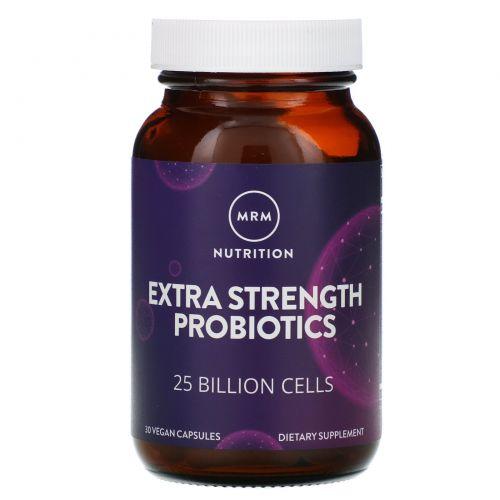 MRM, Сильные пробиотики, 30 веганских капсул