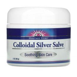 Heritage Products, Бальзам с коллоидным серебром, 2 унции (60 г)