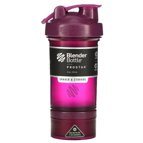 Sundesa, BlenderBottle, ProStak, Plum, 22 oz