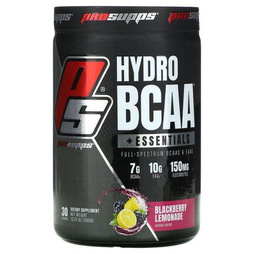 ProSupps, Hydro BCAA, ежевичный лимонад, 15,3 унц. (435 г)