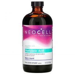 Neocell, Hyaluronic Acid, Blueberry Liquid, 16 жидких унций (473 мл)