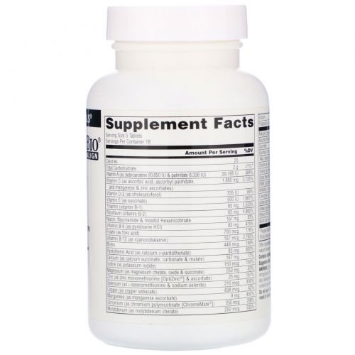 Source Naturals, Elan Vital Multiple, 90 таблеток