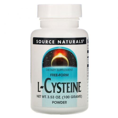 Source Naturals, L-цистеин 3.53 унции (100 г)