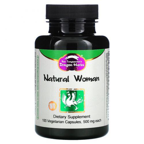 Dragon Herbs, Володушка с пионом, по 500 мг, 100 капсул на растительной основе